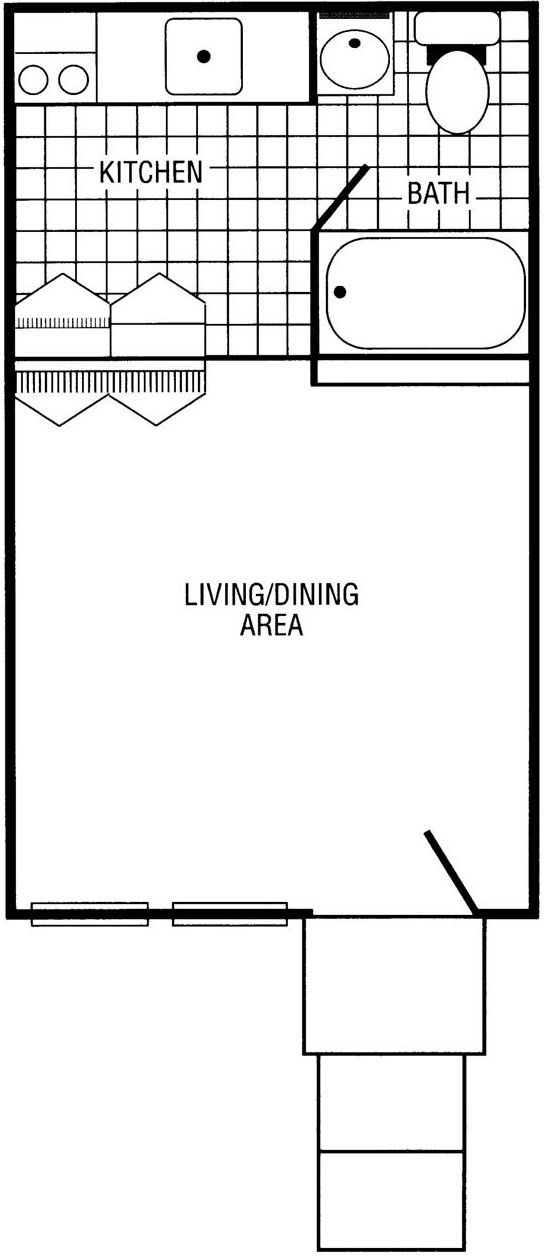 Cardinal Studio Floor Plan